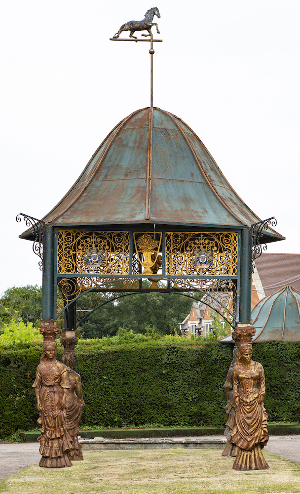An impressive cast iron pavilion, Camden Lock Market